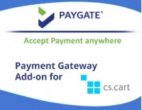 CS-Cart PayGate Payment