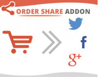 Magento Order Share to Social Media Pages Extension