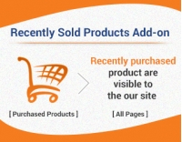 CS-Cart Recently Sold Add-on Version 4.2.x, 4.3.x.